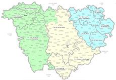 carte de la haute loire avec les communes Téléchargez des cartes de la Haute Loire   Département 43
