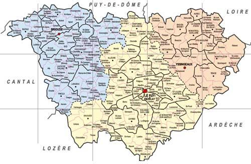 District loire for 42 haute loire